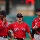 Kike Hernández se fue para la calle por primera vez con el uniforme de los Red Sox