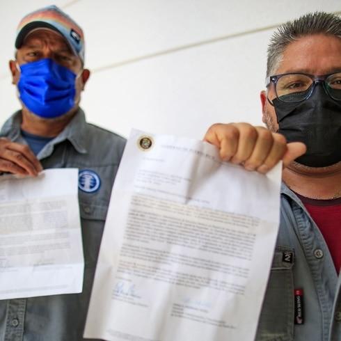 """Celadores de líneas denuncian que la AEE """"los dejó solos"""""""