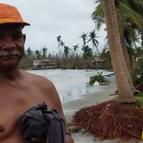 Residentes de la Comunidad Punta Figuera en Ceiba perdieron sus casas