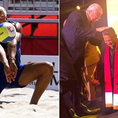 """Willie De Jesús, del voleibol al evangelio: """"Yo era un creído"""""""