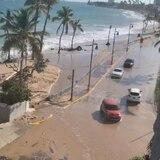 Se sale el mar en Ocean Park, San Juan