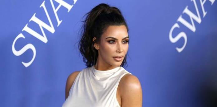 Kim Kardashian tiene 37 años. (Shutterstock)