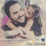 Hija de Víctor Santiago se roba el show en vídeo