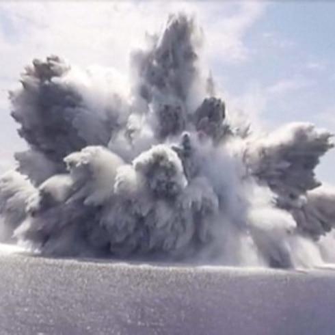 Vídeo: explosión con fuerza de terremoto cerca de Florida