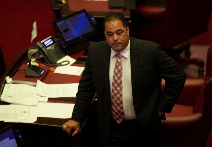 El portavoz del PNP en el Senado, Carmelo Ríos. (GFR Media)