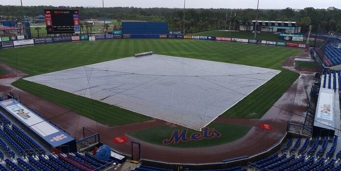 El último encuentro de Puerto Rico en el Preolímpico ante Estados Unidos, programado para ayer, fue suspendido por las deterioradas condiciones del tiempo en el Clover Park de Port St. Lucie.