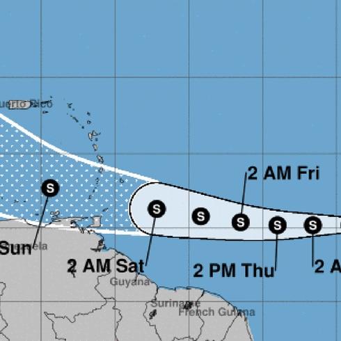 La hora del tiempo: vigilantes al desarrollo de la depresión tropical 7