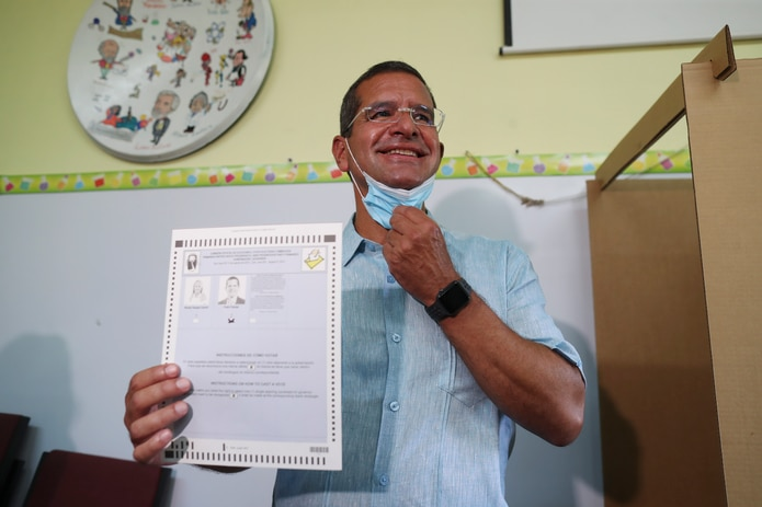 """""""Lo que es igual no es ventaja para todos los candidatos. A mí eso no me preocupa. Siempre y cuando hayan ocho horas para la votación"""", mencionó Pierluisi."""