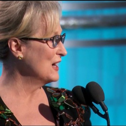 Discurso de Meryl Streep en los Globos de Oro