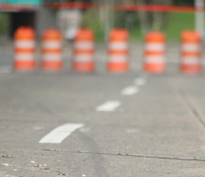 Debido a la investigación del accidente, la carretera fue cerrada al tránsito. (GFR Media)