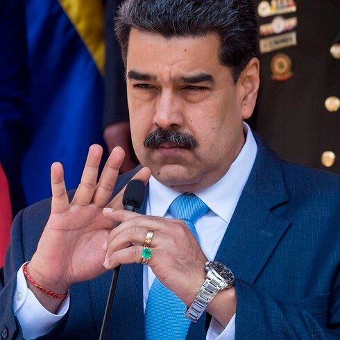 Estados Unidos ofrece $15 millones por Nicolás Maduro
