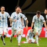 Por penales el pase de Argentina a la final de la Copa América
