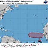 Alto el potencial ciclónico de onda tropical que saldría de África el jueves