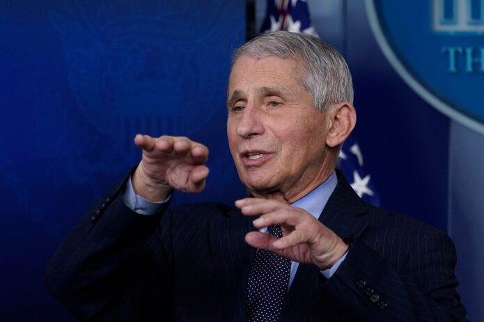 Anthony Fauci, principal experto en enfermedades infecciosas de Estados Unidos.