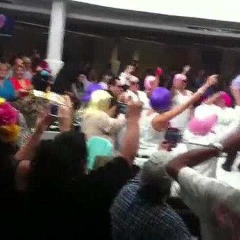 Luis Raúl bailó en Primera Hora