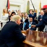 Kanye West parece no ir en serio tras su objetivo de llegar a la Casa Blanca