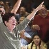 Los rostros de la felicidad al escuchar que Edgar Martínez entra al Salón de la Fama