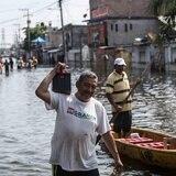 Aumentan los afectados y muertos por lluvias en México y Guatemala