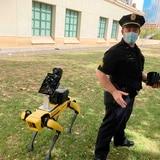Perros robot de policía para detectar fiebre en indigentes