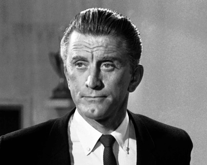 Kirk Douglas en 1962. (AP)