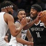 Irving coló 50 pero Brooklyn perdió