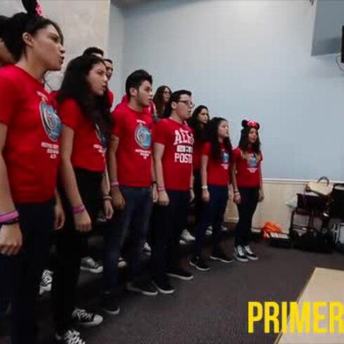 Coro boricua triunfa en competencia de Disney