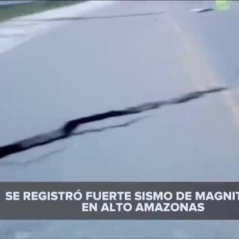 Terremoto de magnitud 7.5 sacude a Perú
