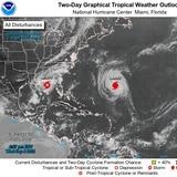 Tormenta tropical Mindy toca tierra en el oeste de Florida