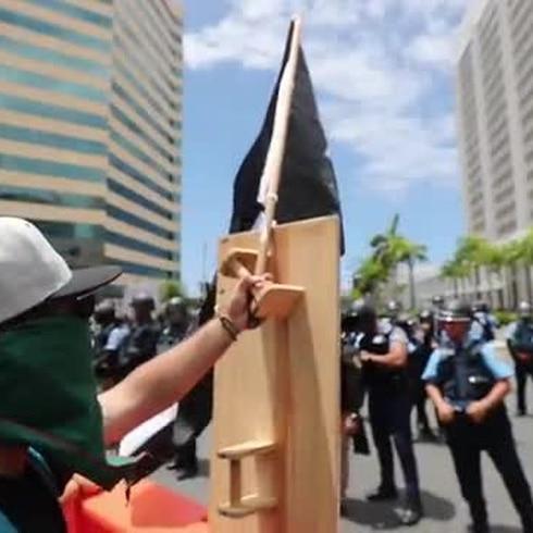 Los rostros de la protesta que estremeció a la Milla de Oro