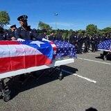 Inicia el tributo a los policías Eliezer Hernández Cartagena y Luis Salamán Conde