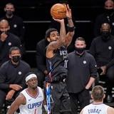 Irving, Durant y Harden fueron veneno para los Clippers