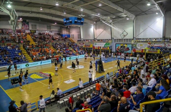 Las Changas de Naranjito reciben en la Gelito Ortega  a las Sanjuaneras de la Capital, una de las franquicias que regresa al Voleibol Superior.