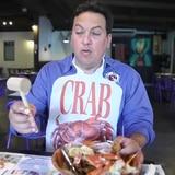 El cangrejo se come así...