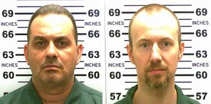 Las autoridades dijeron que Richard Matt y David Sweat ya podrían estar lejos, en Canadá o incluso en México. (AFP)