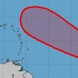 Altas probabilidades de que se forme una depresión tropical cerca de las Antillas