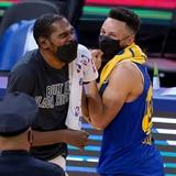 Kevin Durant vuelven Golden State y los Nets dominan