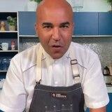 Guíllate de Chef: risotto con chuleta ahumada y amarillos