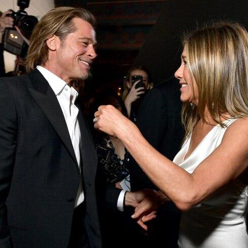 El encuentro de Jennifer Aniston y Brad Pitt que causó furor en las redes