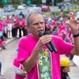 Mujeres celebran la excarcelación de Oscar López Rivera