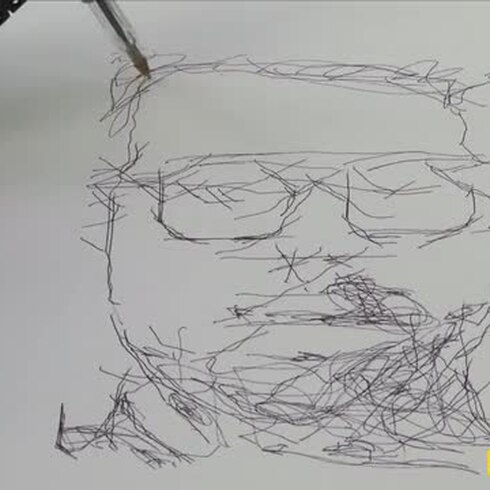 ¿Cómo sería tu retrato si fuera dibujado por un robot?