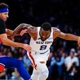 Los Knicks superan a Filadelfia