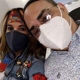 """Gilberto Santa Rosa y Alexandra Malagón hablan de su convivencia en la pandemia en """"Cuéntame"""""""