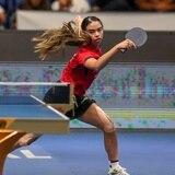Melanie Díaz triunfa en su primer juego en el Preolímpico de tenis de mesa en Argentina