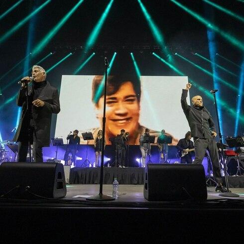 Lágrimas y alegría en el concierto de los exMenudo