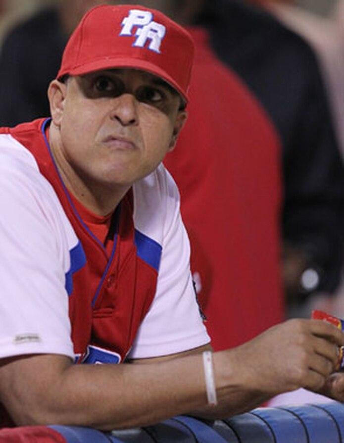 Rivera se mostró agradecido con todo el personal del equipo, al que comenzó a dirigir a principios de la postemporada de la liga invernal. (Archivo)