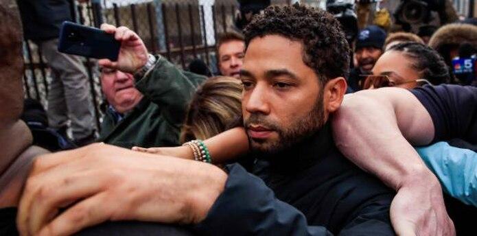 El actor denunció a la policía que había sido atacado en la madrugada del 29 de enero pasado por dos hombres que le gritaron insultos raciales y homofóbicos. (EFE)