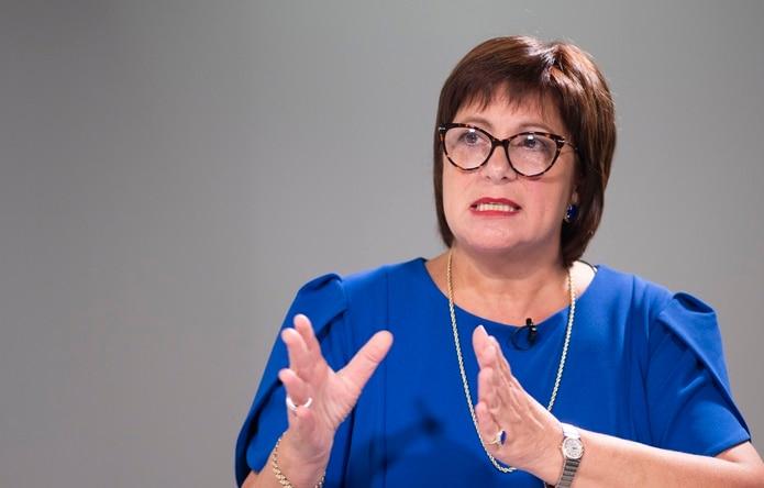 La directora ejecutiva de la Junta de Supervisión Fiscal (JSF), Natalie Jaresko.
