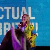 Olga Tañón motiva a los boricuas en Orlando a salir a votar