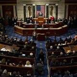 Senadores no podrán hablar, ni salir durante juicio a Trump