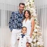 Adamari, Tony y Alaïa están listos para la Navidad